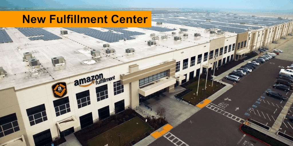 Amazon New Fulfillment Center