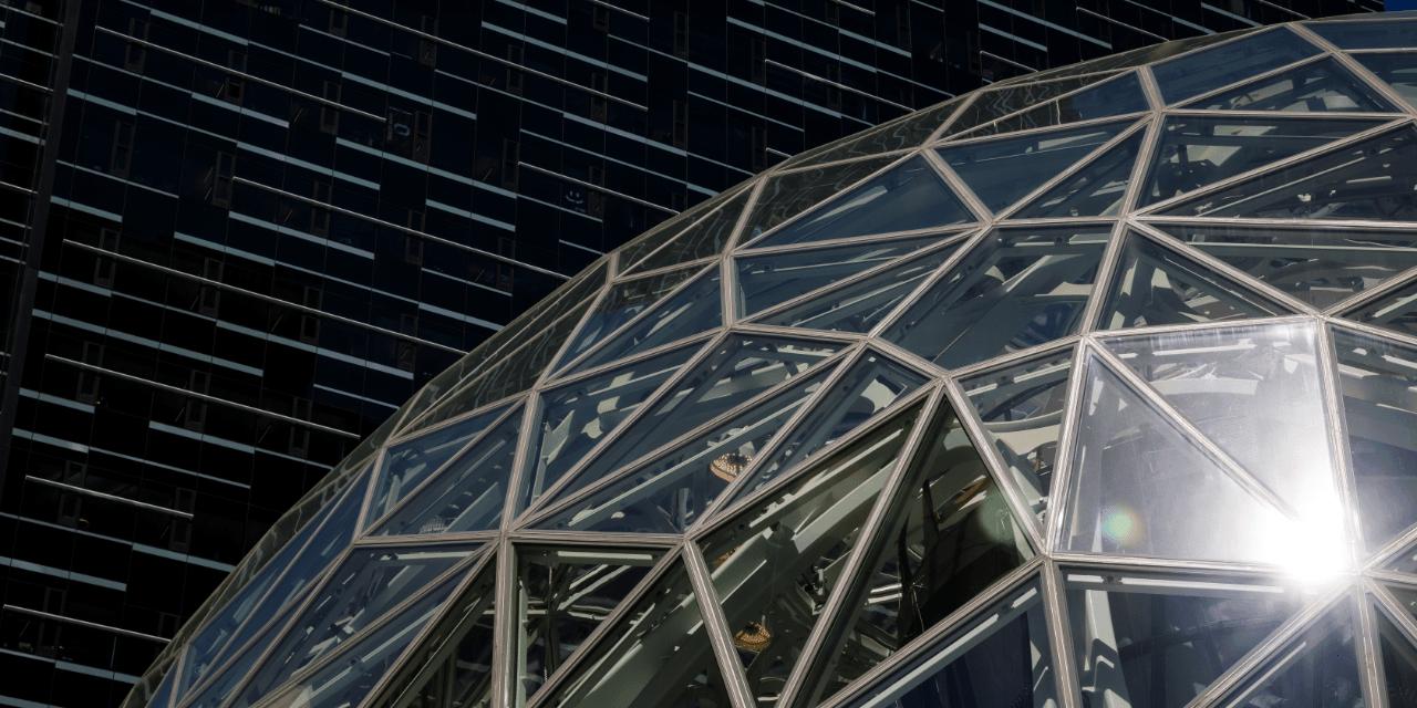 Amazon Seattle HQ Spheres