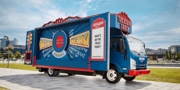 Amazon's Treasure Truck expands to four more US cities