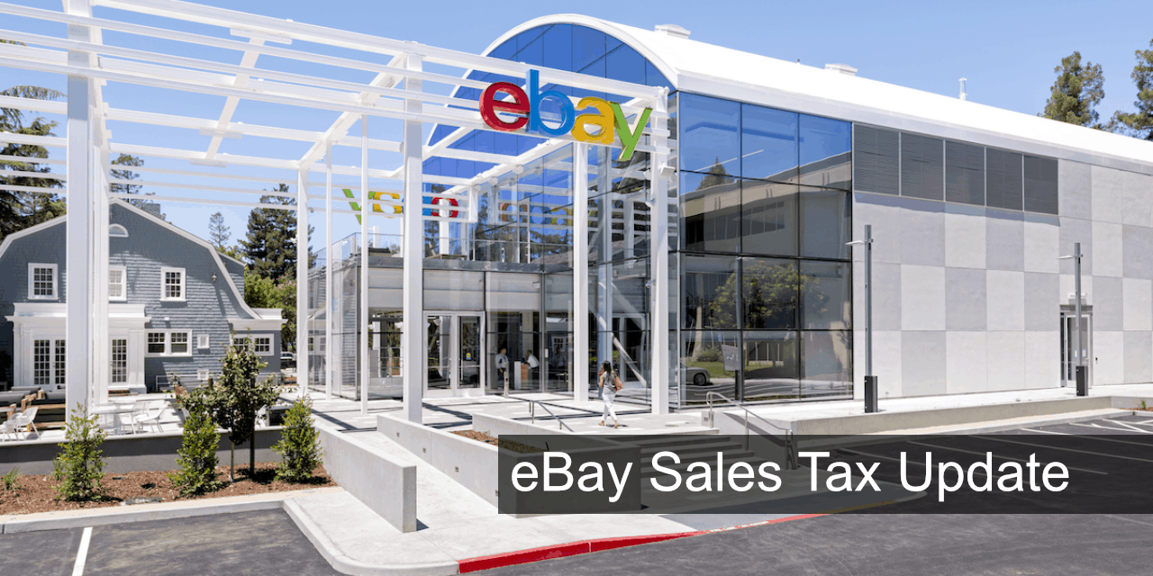 eBay Sales Tax Update