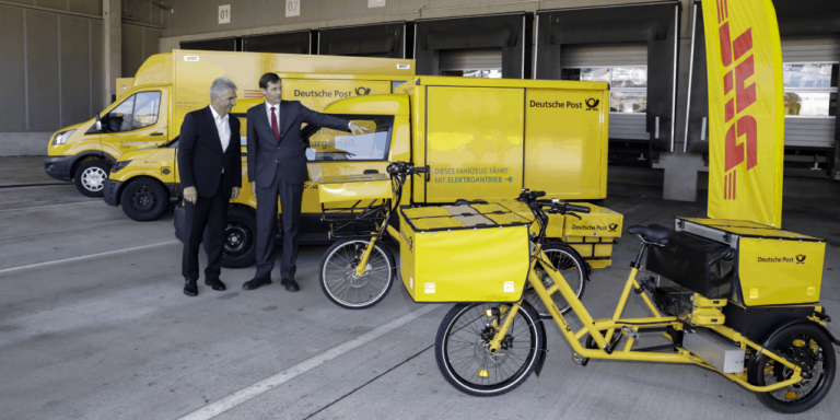 "DHL group presents 10,000th StreetScooter on way to ""green-zero"""