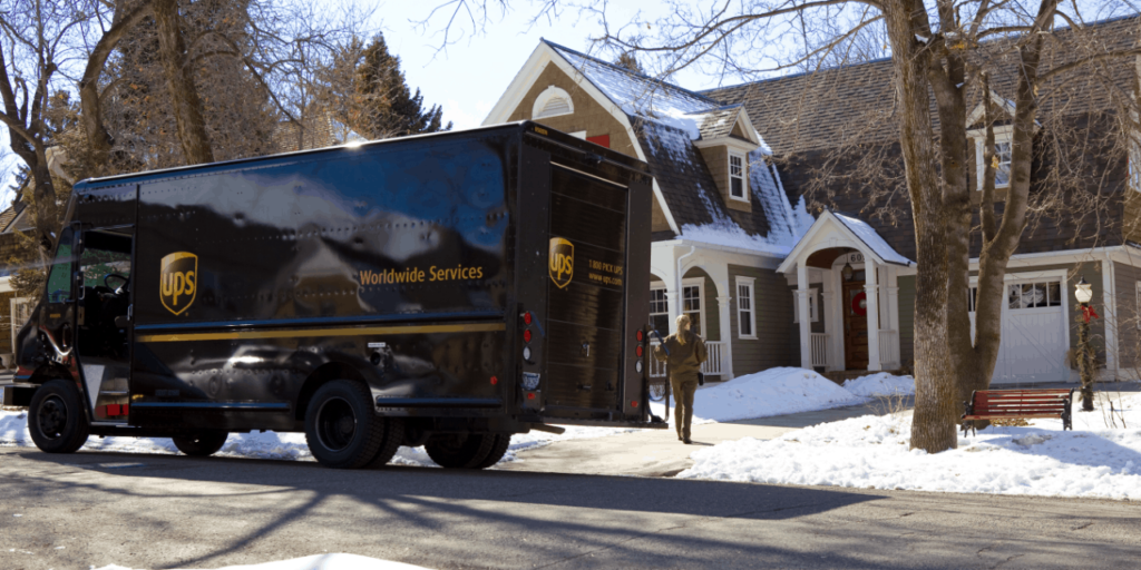 UPS Holiday Season Delivery