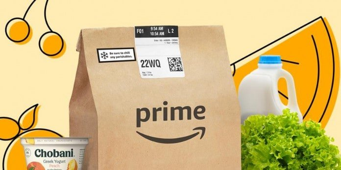 Amazon grocery free delivery