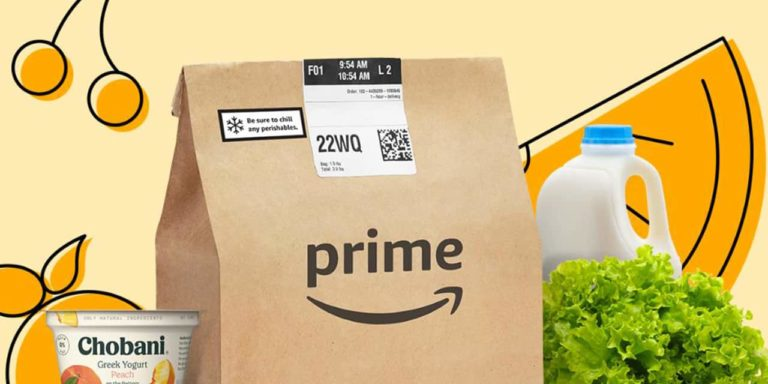 Amazon Offers Free Grocery Delivery to Prime Members