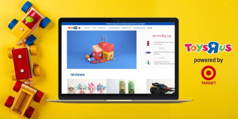 Toys R Us Sells Again Thru Target's Online Platform
