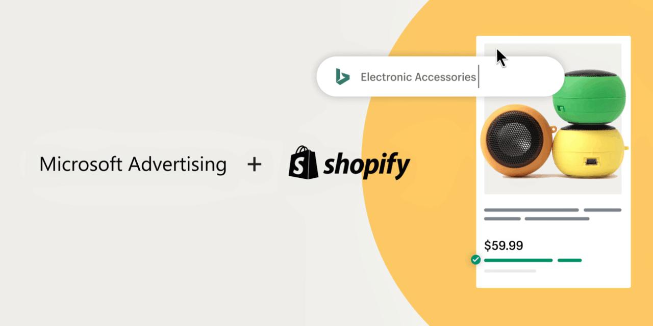 Shopify Microsoft Advertising
