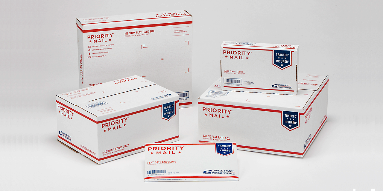 USPS Priority Mail Packaging