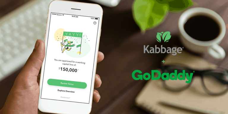 Kabbage Partners With GoDaddy for SMB Financing