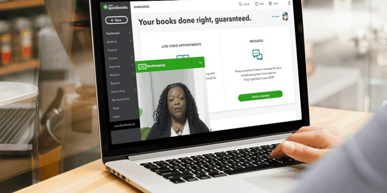 Accountants On-Call via QuickBooks Live Bookkeeping