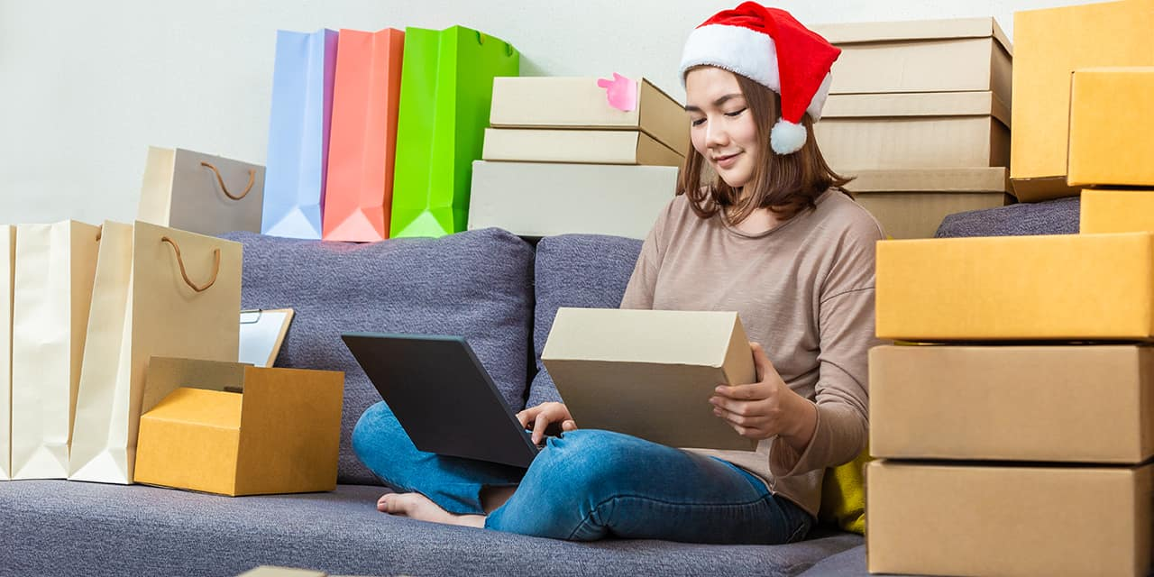 Holiday gifts eCommerce