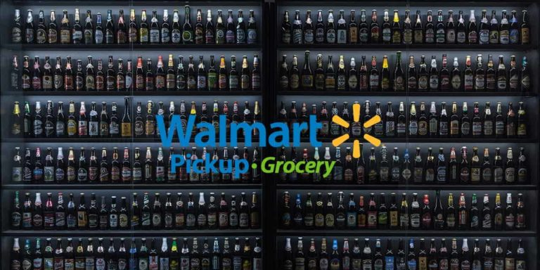 Walmart grocery offers curb side alcohol pickup at 2000 US stores