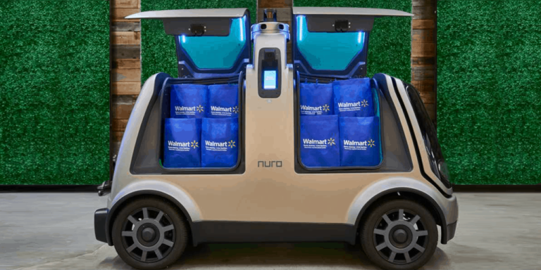 Walmart and Nuro Team up for Autonomous Grocery Delivery