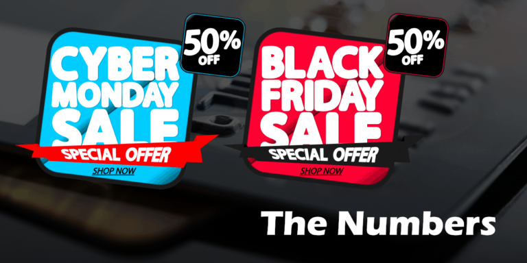Black Friday & Cyber Monday – The Numbers