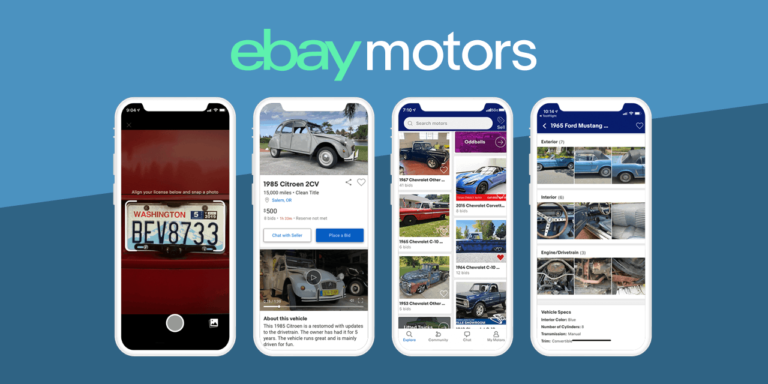 eBay Launches eBay Motors App to Buy and Sell Vehicles