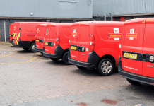 Royal Mail Van Ready for Delivery