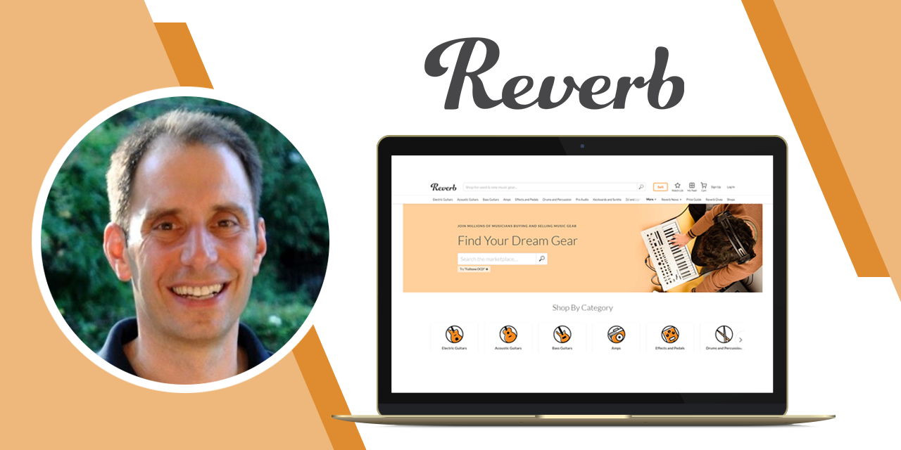 Reverb CEO David Mandelbrot