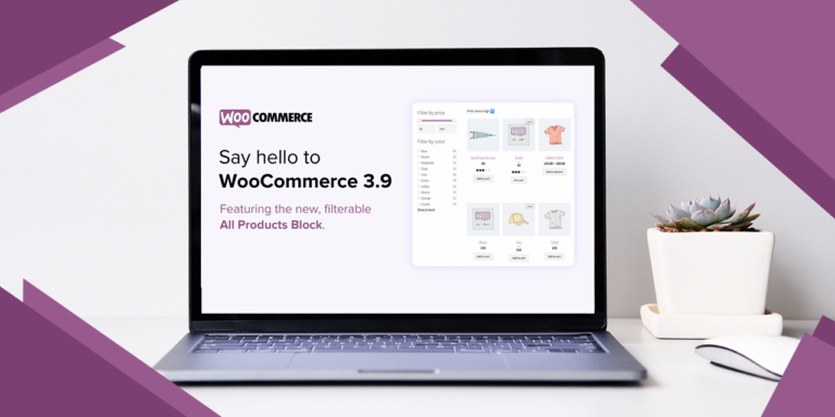 WooCommerce Releases Version 3.9 Which Includes Several Important Updates