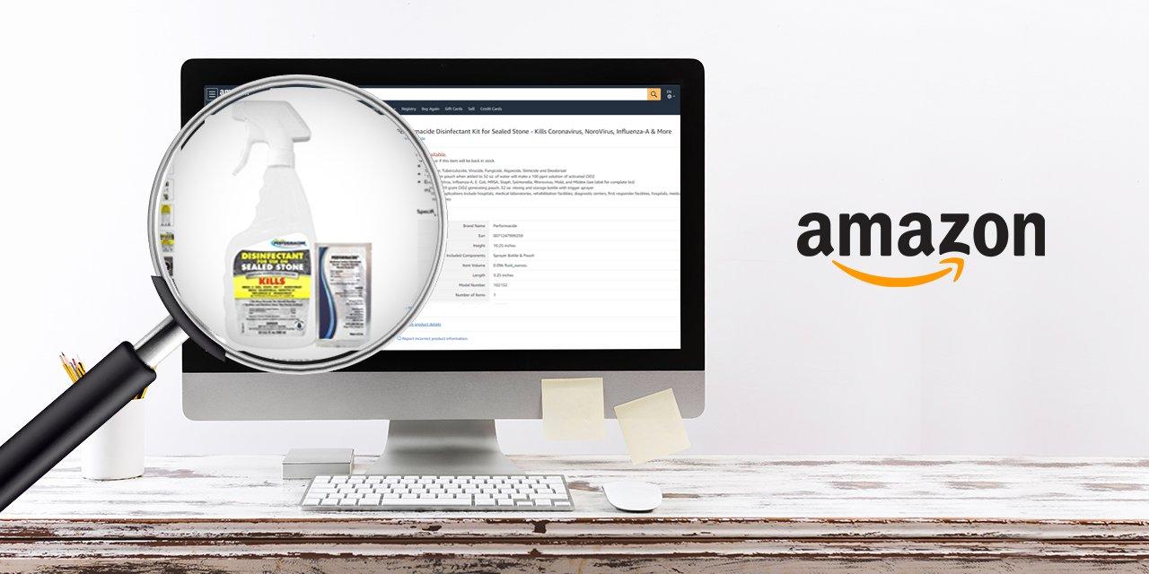 Amazon search Coronavirus