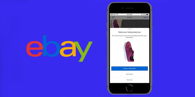 eBay Launches Image Cleanup Feature on iOS and Android