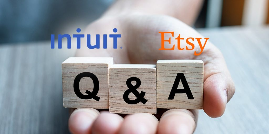 Etsy Intuit Tax Q&A
