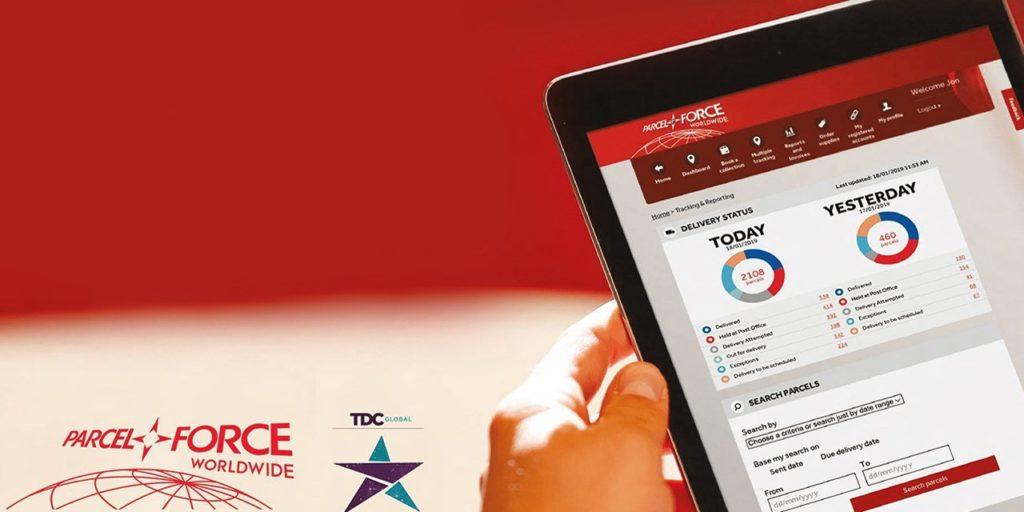 Parcelforce Worldwide Dashboard Wins Award
