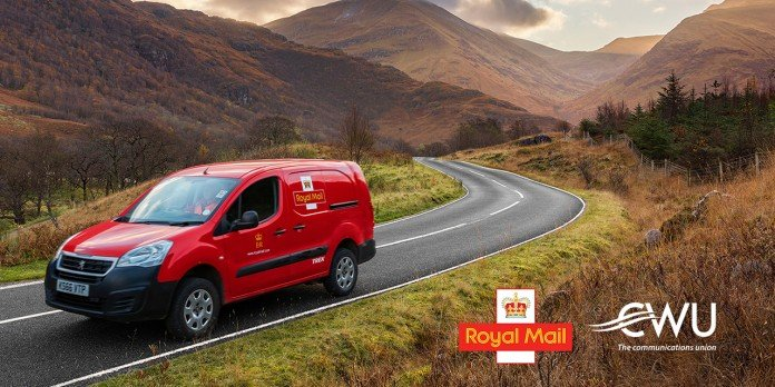 Royal Mail offers contract to CWU