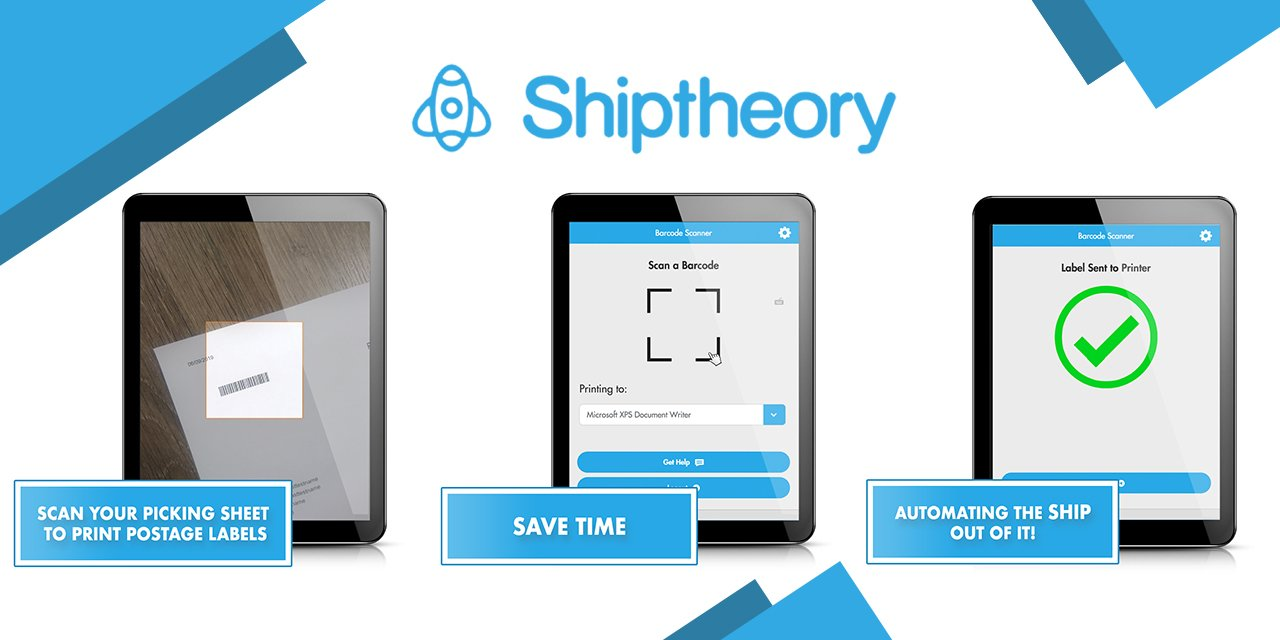 Shiptheory launches barcode scanner app