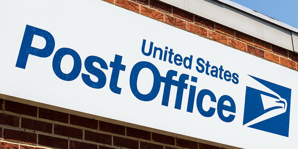 United States Post Office Sign