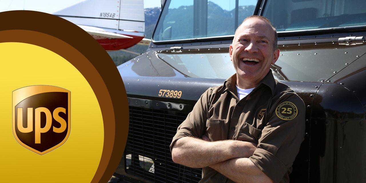 UPS Circle of Honor Driver Tom Fowler