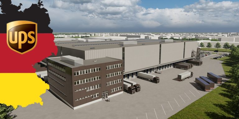 UPS European Network Grows with $173 Million Superhub in Germany