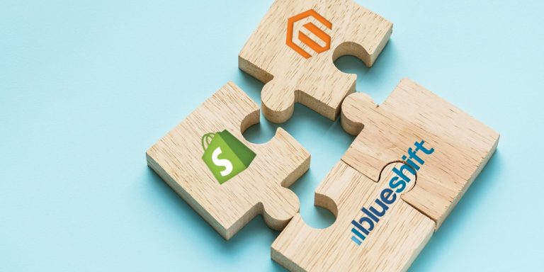Blueshift Integrates Magento and Shopify Online Commerce Platforms