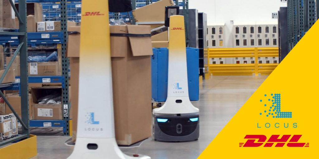 DHL Supply Chain Locus Robotics
