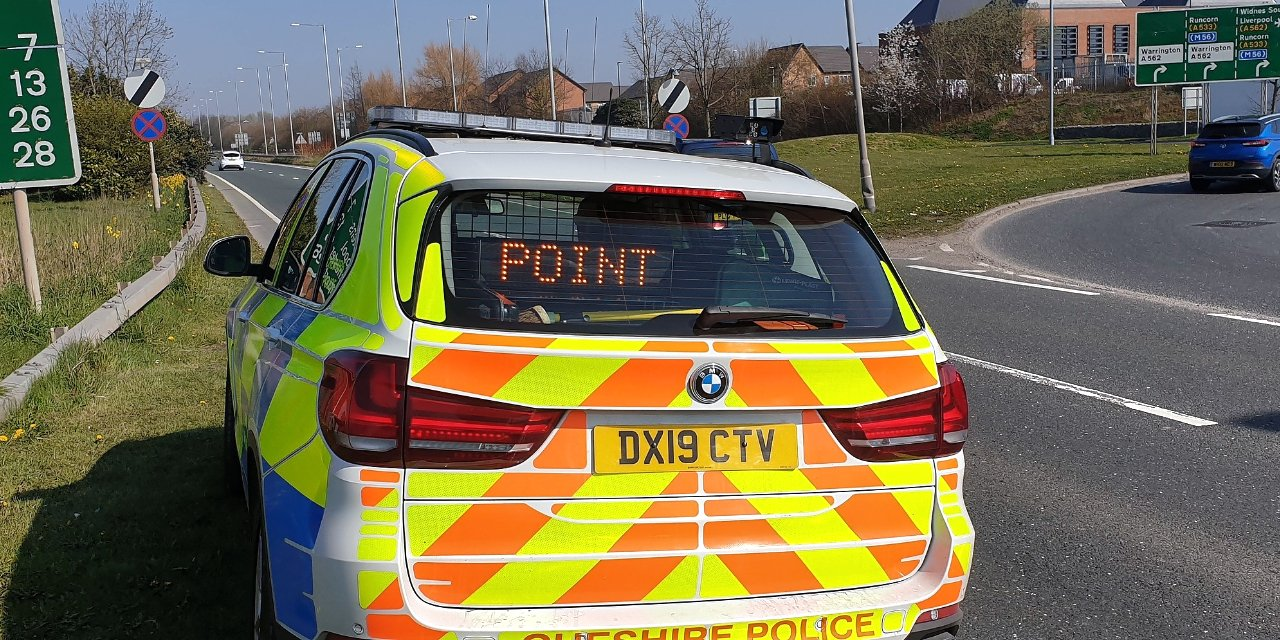 North West Motorway Police Patroling Stay at Home