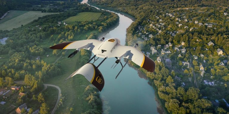 UPS Advances Drone Deliveries in Collaboration With Wingcopter