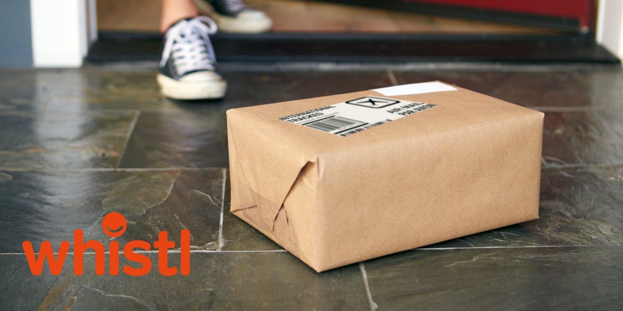 Whistl parcel delivery front door