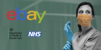 eBay, DHSC, NHS