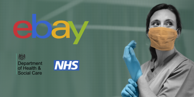 eBay U.K. Partners with NHS and DHSC to Pilot Platform Supplying PPE