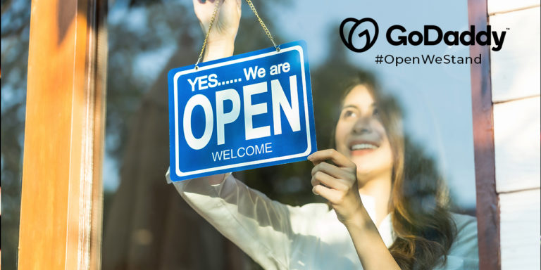 GoDaddy Builds Coalition of Companies to Support Small Businesses Through #OpenWeStand Movement