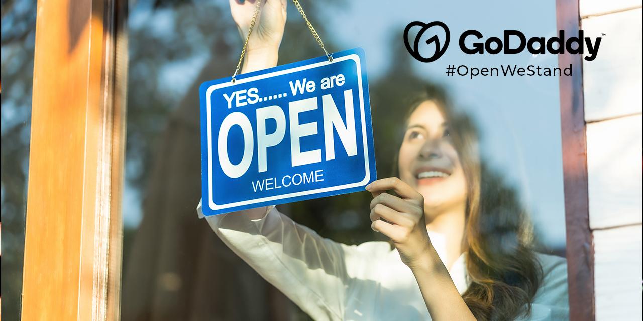 GoDaddy #OpenWeStand