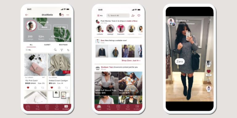 Poshmark Launches Posh Stories Bringing Shoppable Videos to Sellers