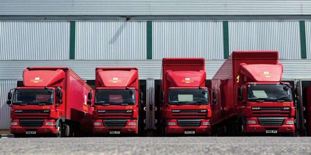 Royal Mail Trucks