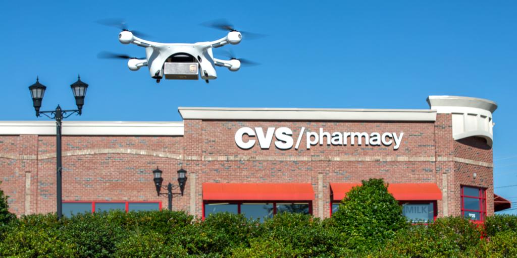 UPS CVS Drone Delivery