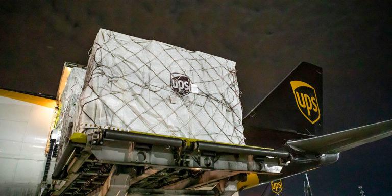 UPS Added Over 200 Flights in April in Support of Coronavirus Relief Efforts