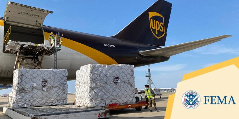 UPS Supports FEMA Project Airbridge to Expedite Critical Medical Supplies