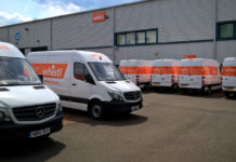 Whistl Delivery Vans