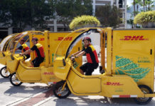 DHL Express E-Bike