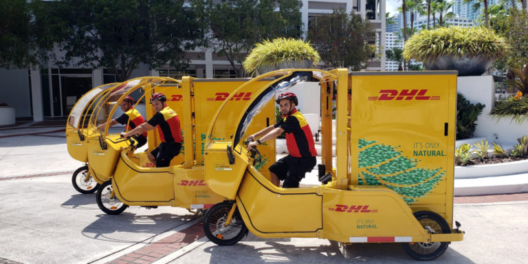 DHL Express Adds e-Cargo Cycles For Deliveries in Miami