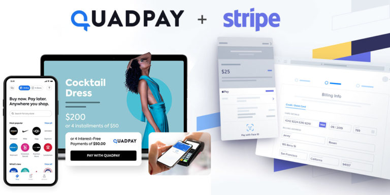 QuadPay Partners With Stripe For Advanced Buy-Now-Pay-Later Payment Experiences
