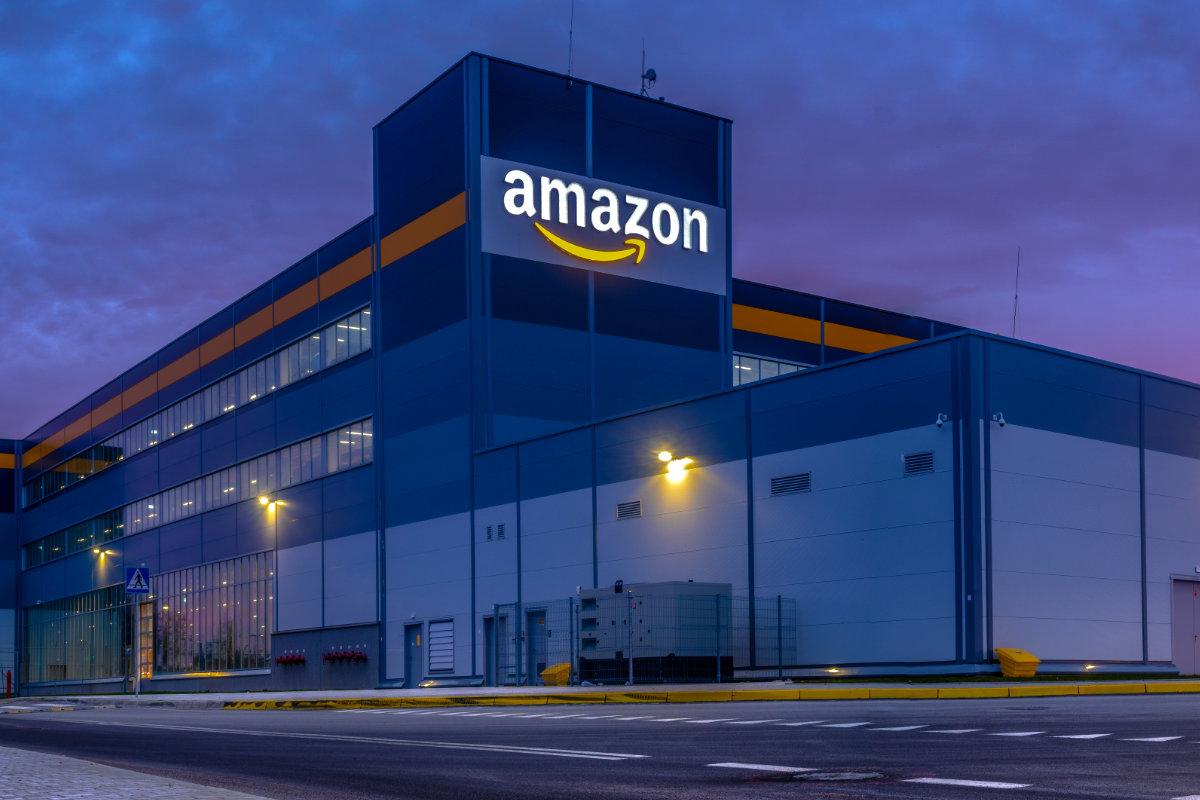 Amazon fulfillment center in Poland