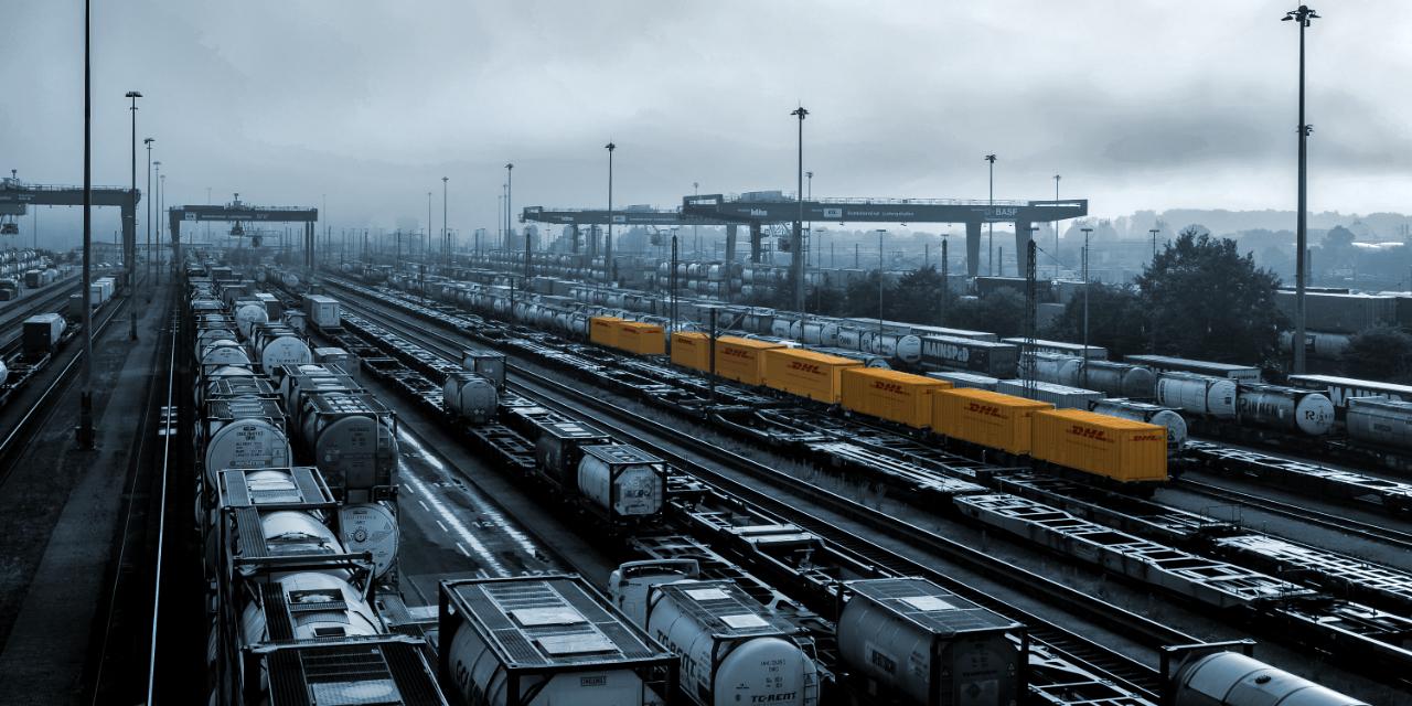 DHL Global Forwarding Train Service